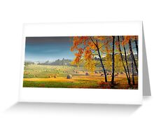 Pasture Meadow Greeting Card