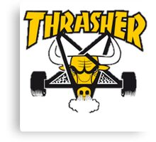 Trasher collection Canvas Print
