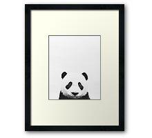 Baby Panda, Nursery, Animal, Kids room, Modern art, Wall decor Framed Print