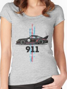 martini rauh welt 911 Women's Fitted Scoop T-Shirt