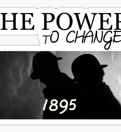 Johnlock | The Power to Change 1895 Sticker