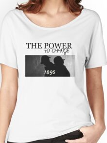 Johnlock | The Power to Change 1895 Women's Relaxed Fit T-Shirt