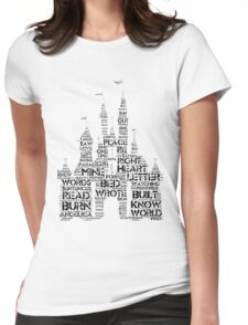 Palaces Out of Paragraphs Womens Fitted T-Shirt