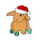 Christmas bun by Edith Arnold