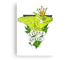 Lizard Queen  Canvas Print