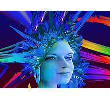 Space Crystal  Photographic Print