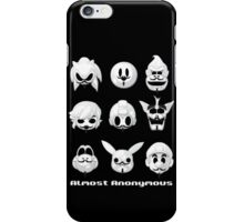 Almost anonymous iPhone Case/Skin