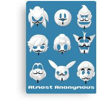Almost anonymous Canvas Print