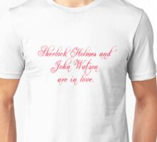 Johnlock | Love Unisex T-Shirt