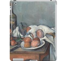 Paul Cezanne - Still Life with Onions 1896 - 1898 iPad Case/Skin