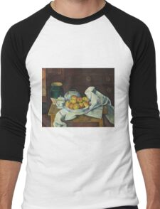 Paul Cezanne - Still Life with Commode  1887 - 1888 Men's Baseball ¾ T-Shirt