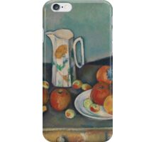 Paul Cezanne - Still life Mellom  1890 iPhone Case/Skin