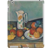 Paul Cezanne - Still life Mellom  1890 iPad Case/Skin