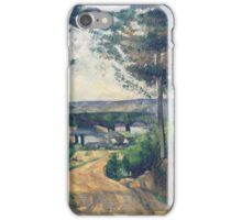 Paul Cezanne - Road leading to the lake 1880 iPhone Case/Skin
