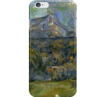 Paul Cezanne - Mont Sainte-Victoire 1902 - 1906 iPhone Case/Skin