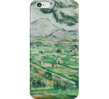 Paul Cezanne - Mont Sainte-Victoire 1886-1887 iPhone Case/Skin