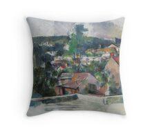Paul Cezanne - Landscape 1888 - 1890 Throw Pillow