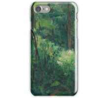 Paul Cezanne - Interior of a forest 1880 - 1890 iPhone Case/Skin
