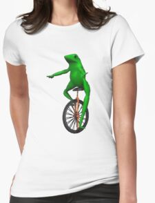 DAT BOI - Frog Womens Fitted T-Shirt