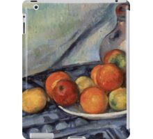 Paul Cezanne - Fruit and a Jug on a Table  Impressionism  Still Life iPad Case/Skin