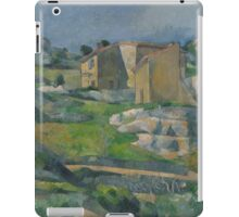 Paul Cezanne - Houses in Provence The Riaux Valley near L Estaque 1883 iPad Case/Skin