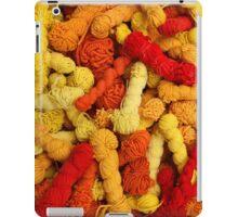 Yarn at the Market iPad Case/Skin