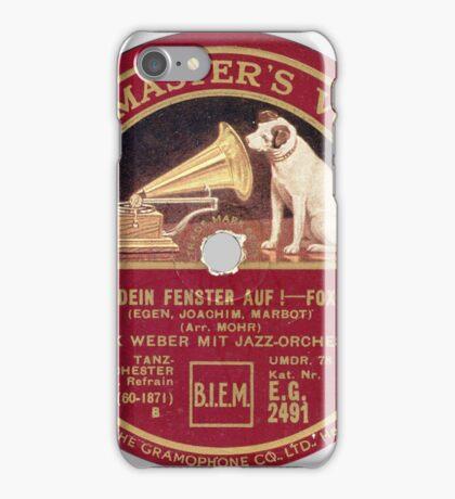 vintage HMV iPhone Case/Skin