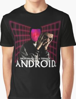Nightmares of a Teenage Android Graphic T-Shirt