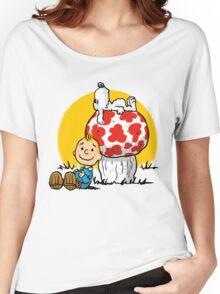 Buddies Women's Relaxed Fit T-Shirt