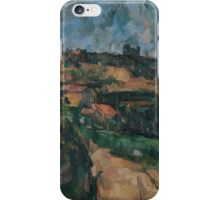 Paul Cezanne - Bend Of The Road At The Top Of The Chemin Des Lauves Impressionism  Still Life iPhone Case/Skin