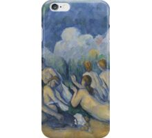Paul Cezanne - Bathers Les Grandes Baigneuses  1894-1905 iPhone Case/Skin