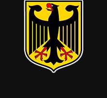 GERMAN EAGLE, on BLACK, German Coat of Arms, Flag, Bundesdienstflagge und Kriegsflagge Unisex T-Shirt