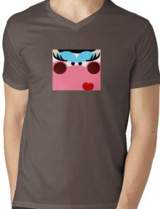 Sexy Cow Mens V-Neck T-Shirt