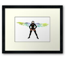 Party Angel 2 Framed Print