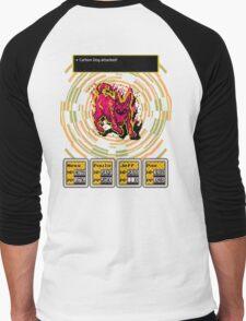 Earthbound - Carbon Dog Men's Baseball ¾ T-Shirt