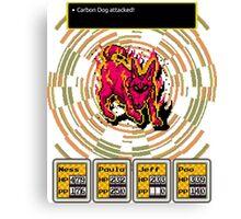 Earthbound - Carbon Dog Canvas Print
