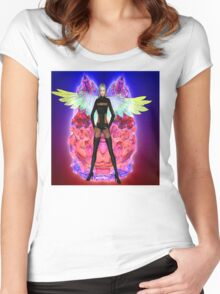 Party Angel Women's Fitted Scoop T-Shirt