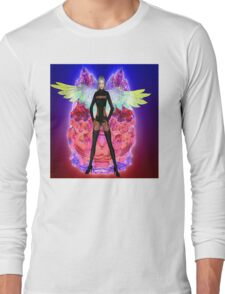 Party Angel Long Sleeve T-Shirt