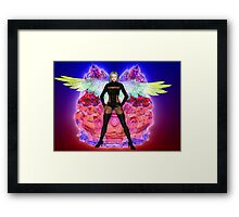 Party Angel Framed Print