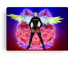 Party Angel Canvas Print