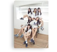 Gfriend Group Picture Canvas Print