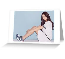 Sowon Sporty Look Greeting Card