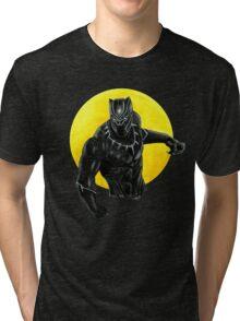 Black panther  Tri-blend T-Shirt