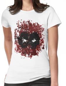Merc with his mouth missing Womens Fitted T-Shirt