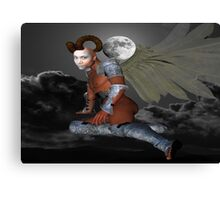 Moon Demon Canvas Print