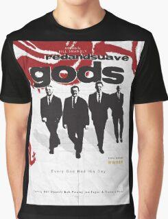 Red and Suave Gods- Bill Shankly, Bob Paisley, Joe Fagan & Ronnie Moran Graphic T-Shirt