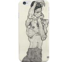 Egon Schiele - Zeichnungen II. 1914  Expressionism  Portrait iPhone Case/Skin