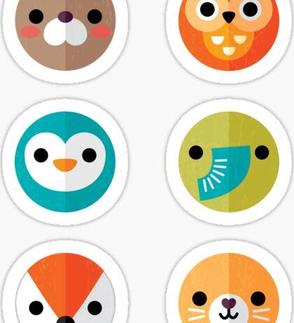Smiley Faces - Set 2 Sticker
