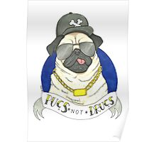Pugs, Not Drugs  Poster