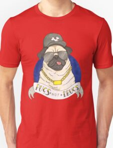 Pugs, Not Drugs  Unisex T-Shirt